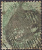 1856 1s Green SG73 Plate 1